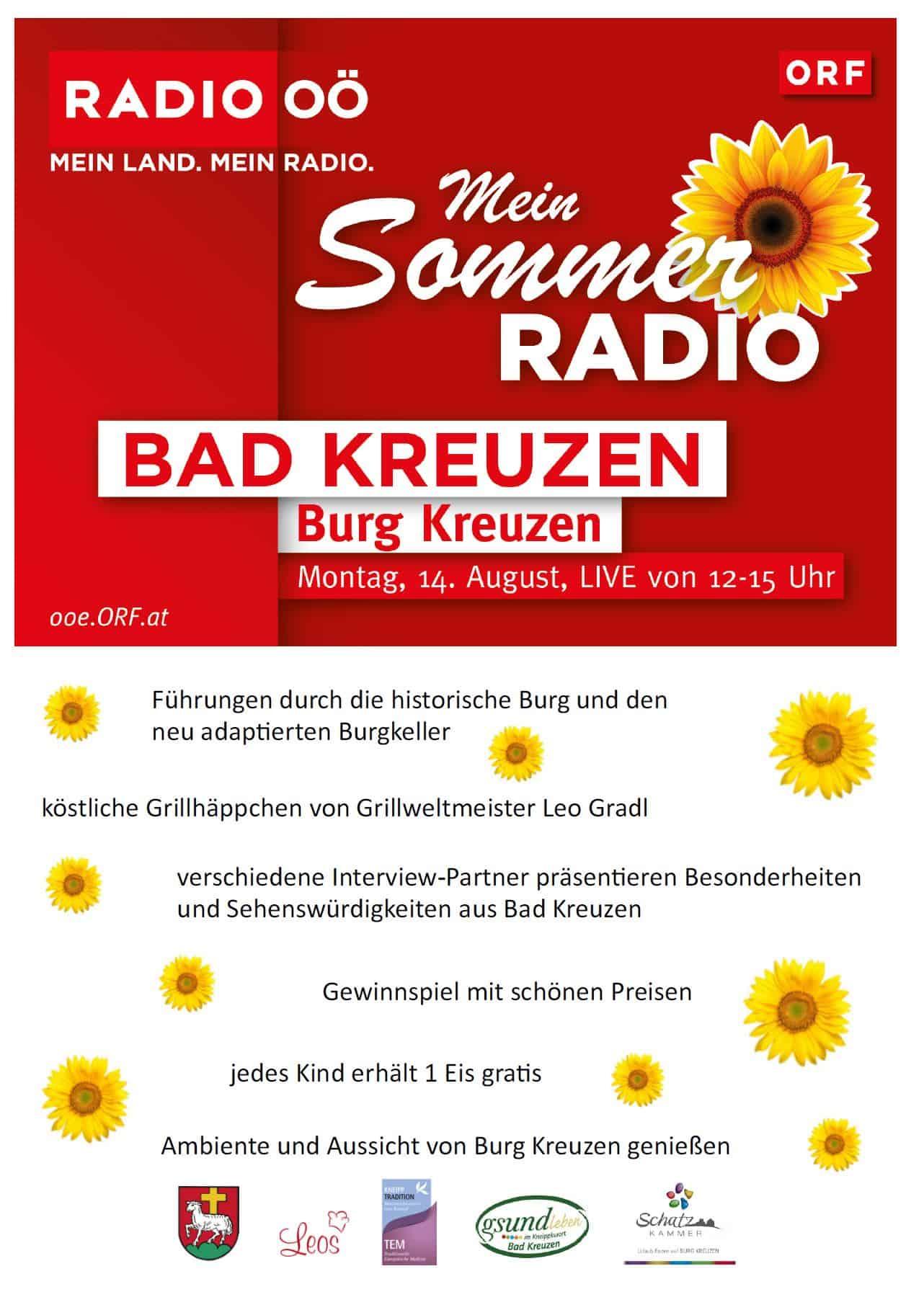 Sommerradio Burg Kreuzen